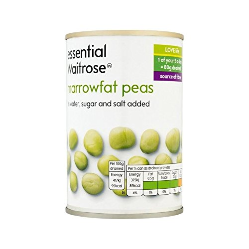 Marrowfat Peas essential Waitrose 300g - Pack of 6 by WAITROSE