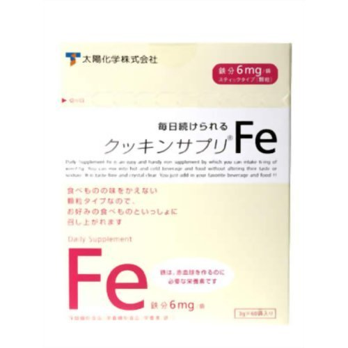 クッキンサプリ Fe 3g*60袋 2ケース B076KQLS5Y