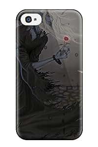 Hot original anime demon girl Anime Pop Culture Hard Plastic iPhone 4/4s cases