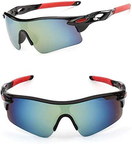 Óculos De Ciclismo Esportivo Espelhado Proteção Uv 400 Bike