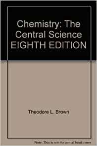 chemistry the central science brown pdf