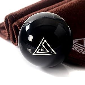 CUESOUL 6 Unzen 2 1/4 Resin Praxis Schwarz 8 Billiard Pool Snooker...