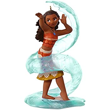 hallmark keepsake 2017 disney moana waialiki christmas ornament - Hallmark Christmas Decorations 2017