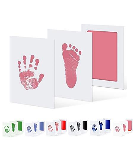 Uamita stempelkussen voor baby's van 0 tot 6 maanden. De afdruk wordt zonder contact tussen kind en inkt gedrukt. Klein…