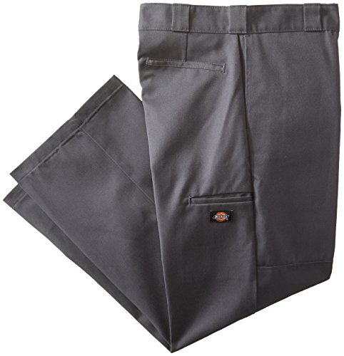 Dickies Men's Big-Tall Loose Fit Double Knee Work Pant, Charcoal, 50x32
