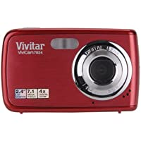 Vivitar ViviCam V7024 7.1 MP Digital Camera with 2.4-Inch LCD