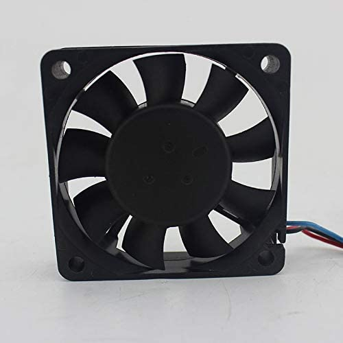 for Delta EUB0612HHB 12V 0.21A 6CM 6015 3-Wire Cooling Fan