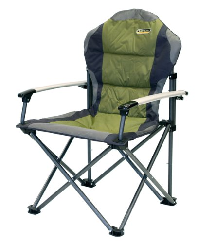 Quest Elite fort Plus Folding Camping Chair Heavy Duty Max load 120k