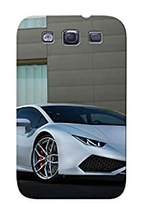 Galaxy S3 Case - Tpu Case Protective For Galaxy S3- Car Vehicle Sport Supercar Sportcar Supersport Lamborghini Italy Case For Thanksgiving's Gift