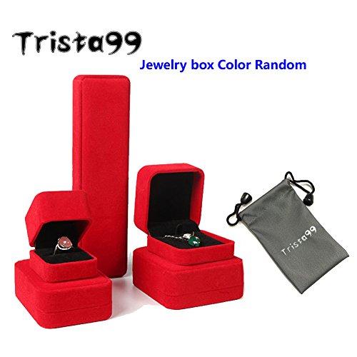 Trista99 Anklet for Women & Girls Adjustable Foot Ankle Bracelet with Swarovski Element Crystals (Blue Star Crystal) by Trista99 (Image #7)