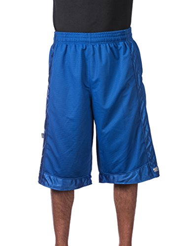 Pro Club Men's Heavyweight Mesh Basketball Shorts, 3X-Large, Royal Blue Athletic Club