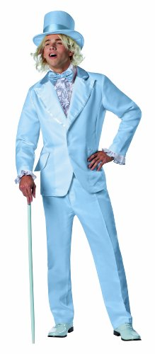 Tuxedo Costumes - Rasta Imposta Dumb and Dumber Harry Dunne Tuxedo Costume, Blue, One Size