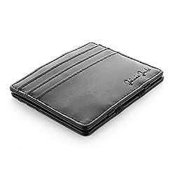4e83e1ffd8 JAIMIE JACOBS Portafoglio Magico, Magic Wallet Flap Boy Slim – l'Originale  – Protezione RFID, Portafoglio Uomo Piccolo, Porta Carte di Credito  Ragazzo, ...