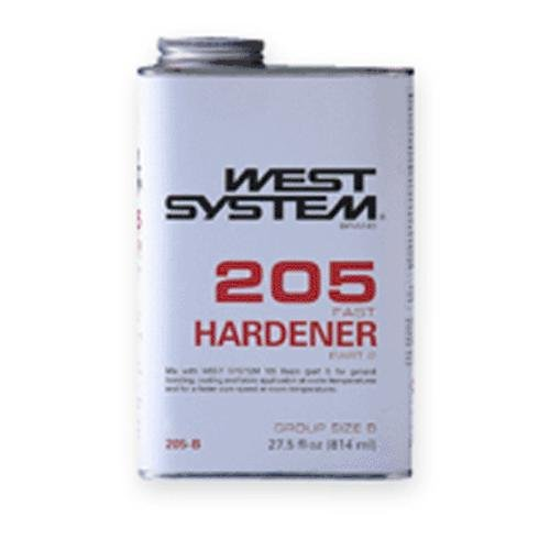 WEST SYSTEM 205B Fast Hardener, 0.86 Quart by WEST SYSTEM