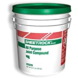 U S GYPSUM 380501-048 Us Gypsum All Purpose Joint Compound, 5 gallon