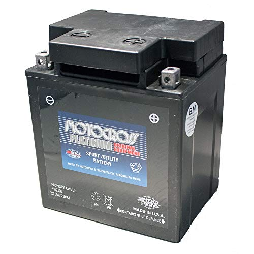 - 12V 30AH Battery Bombardier Sea-Doo 1500 GTX 4-Tec 2003-07