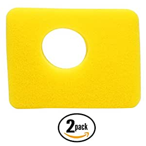 2-Pack Replacement Briggs & Stratton 09P702-0002-B1 Engine Air Cleaner Foam Filter - Compatible Briggs & Stratton 799579 Filter