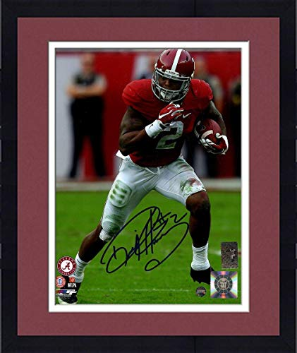 (Framed Derrick Henry Signed Alabama 8x10 Photo - Steiner Sports Certified - Autographed College Photos)