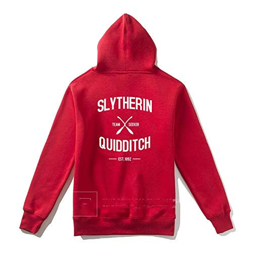 Chery-Story Men Hoodie Women Casual Streetwear Hoodies Coats Casual Homme 2017 New Jacket,Red with Zipper,L (Zim Perfume)
