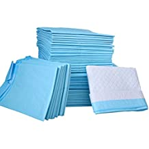 PetsWorld 50 Count 23x36 Extremely Strong & Super Absorbent Puppy Training Pads, WON`T LEAK OR SPREAD