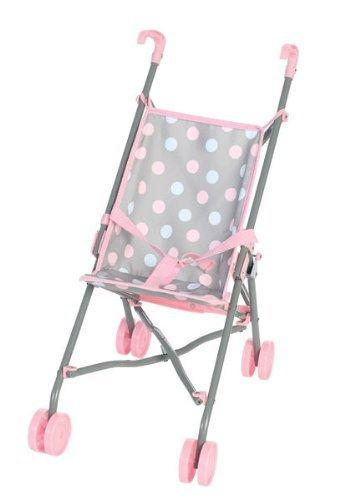 Polka Dot Baby Doll Stroller - 2