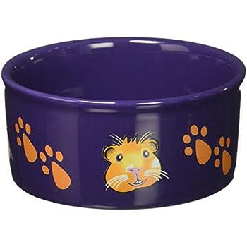 Pet Supplies Kaytee Paw Print Petware Bowl Guinea Pig