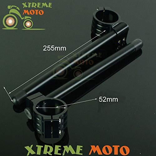 Occus Grips Aluminum 52MM Fork Tube Adjustable Handlebars Clipons Clip-on for Triumph STREED Triple 07-10 TZ250 FZR1000 91-95 Street Bike (Best 1000cc Street Bike)