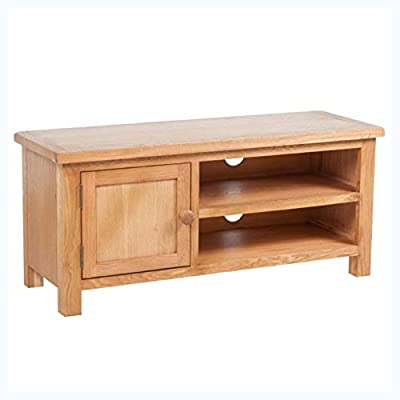 "K&A Company TV Cabinet Oak 40.6""x14.2""x18.1"""