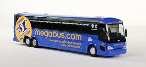 Megabus Diecast Bus Ho Scale Mci D4505