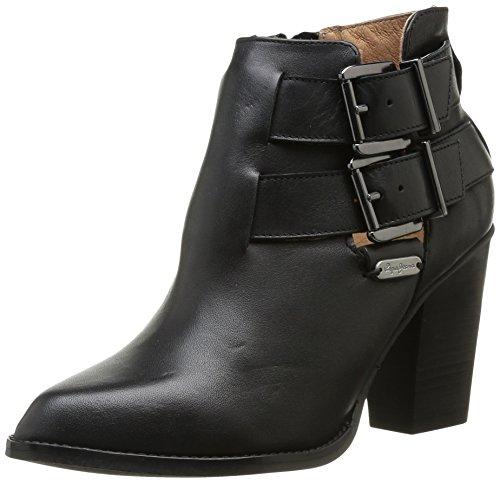 Pepe Jeans Heston Buckles - Botas de otras pieles mujer negro - Noir (999 Black)