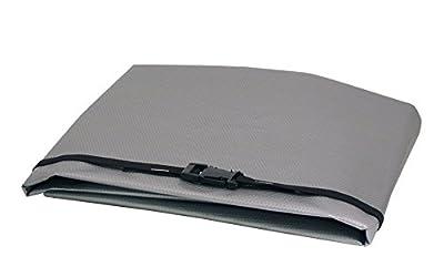 WJ Dennis & Company 20 Window Air Conditioner Cover, Fits 10,00-15,000 BTU Models, 27-Inch W x 18-Inch H x 22-Inch Dia, Grey
