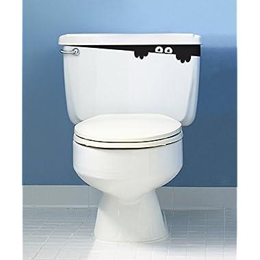 Toilet Monster Bathroom wall art decal sticker funny kids vinyl decal potty training