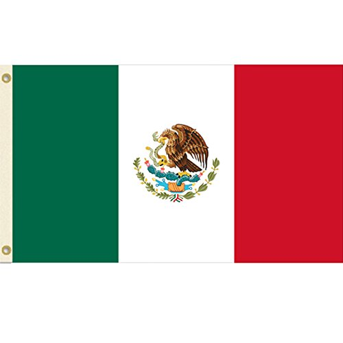 Mexico 3x5 Polyester Flag
