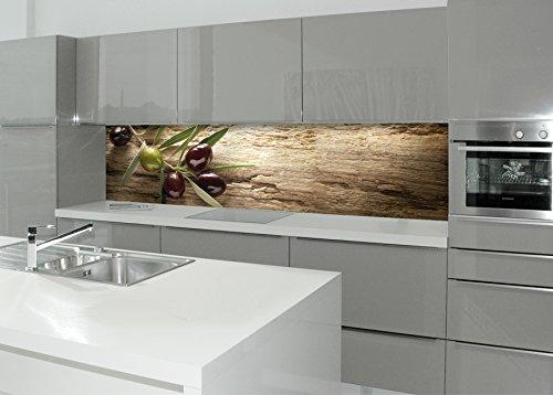 mySPOTTI 251059 profix Mediterran, Küchenrückwand, 220 x 60 cm ...