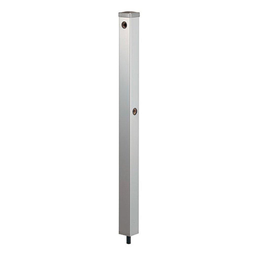 カクダイ ステンレス水栓柱(分水孔付) 624-124(60角) B01BL7HA1W 10328   全長:900mm