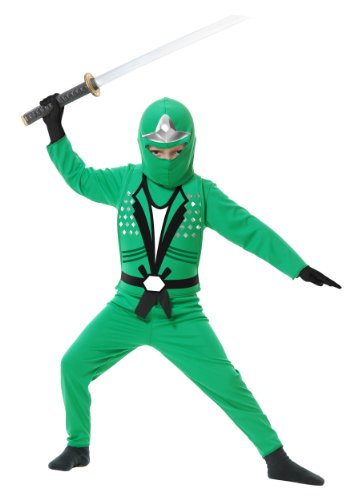Jade Ninja Avenger II Toddler Costume (Cheap Ninja Costumes)