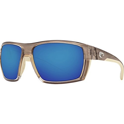 Costa Del Mar Hamlin Sunglasses Crystal Bronze/Blue Mirror 400Glass