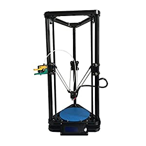 Auto leveling HE3D K200 delta DIY 3D printer kit single full metal extruder large printing size by HE3D