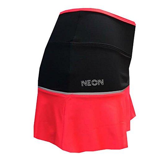 Falda Padel Neon Mujer Canea Afternoon-L: Amazon.es ...