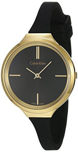 Calvin Klein Lively Black Dial Ladies Watch K4U235B1