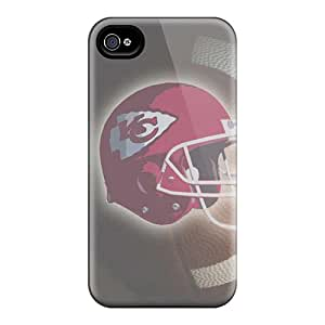 Awesome Case Cover/iphone 4/4s Defender Case Cover(kansas City Chiefs)