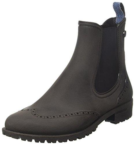 stivaletti e Trussardi nero Stivali Donna pioggia 79a00097 Nero Jeans 9y099999 da YqxgY0O