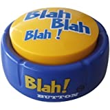 Blah Button – Talking Blue Button Features Hilarious Blah Sayings – Talking Novelty Gift for Laughs and Stress Relief – Talki