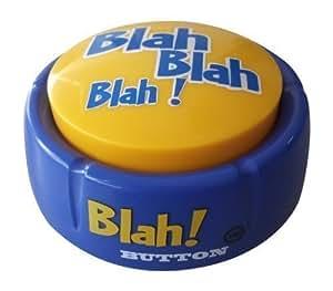 Blah Button (Features 12 Hilarious Blah Phrases)