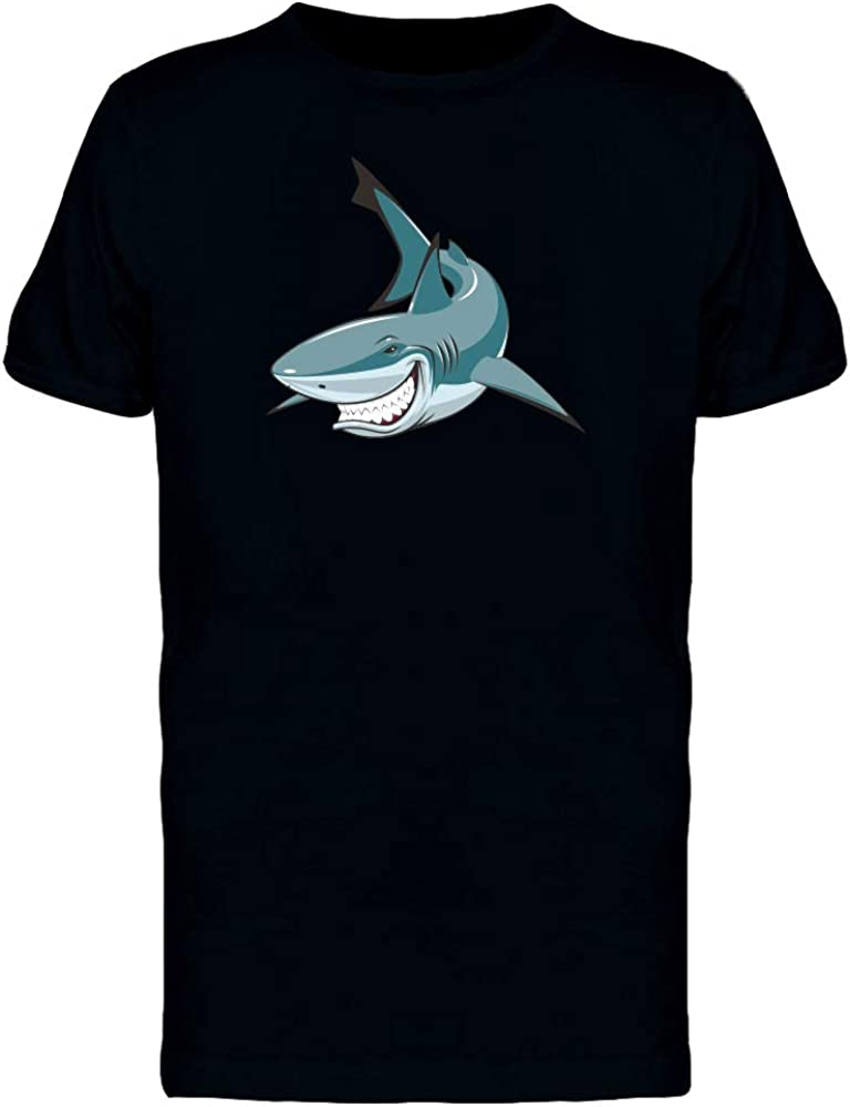 Menacing Shark Tee Men's