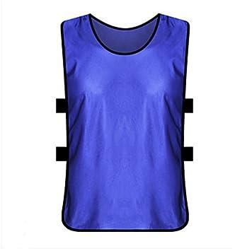 Set de 12 chaleco de entrenamiento de fútbol adultos Fútbol Camisetas Chaleco de fútbol Fútbol formación