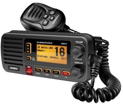Uniden UM415 Black VHF Fixed Radio