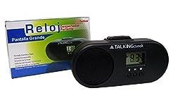 Spanish Talking Alarm Clock, Big Clear D...