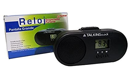 Buy Spanish Talking Alarm Clock Talking Alarm ClockSpanish Speaking - Invoice en español