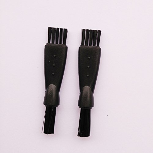 Ronsit Shaver Razor Cleaning Brushes (2) - Fits any shaver for Remington, Norelco, and Wahl